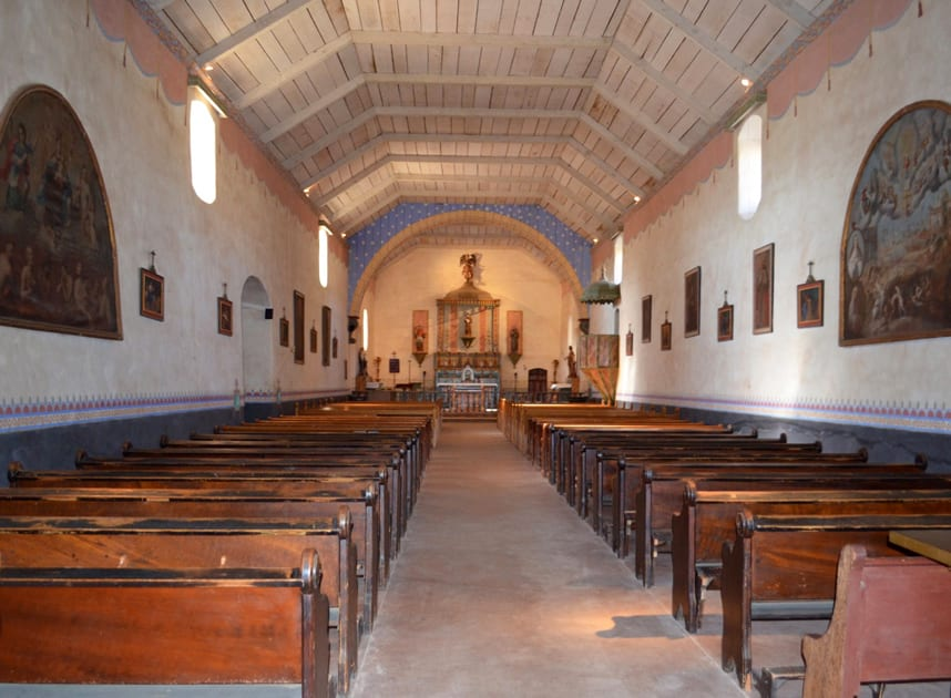 Inside Mission San Antonio De Padua