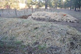 Narrow Gate's Compost Piles