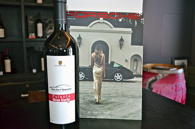 Pulenta Estates Wine for Porsche
