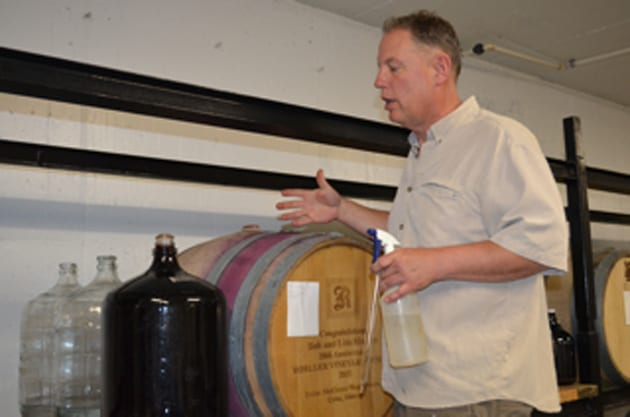 Jerry Mueller Barrel Tasting