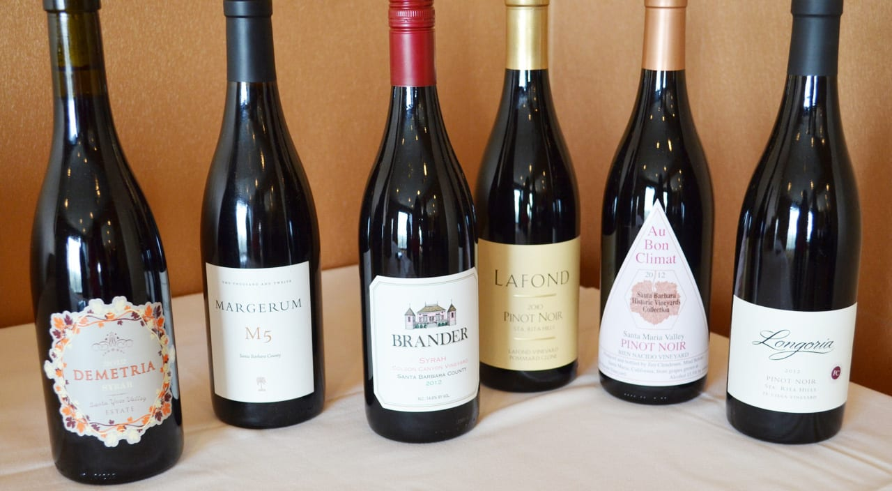 Santa Barbara County Red Wines