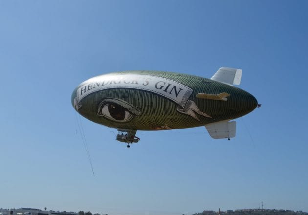 Hendricks Gin Flying Cucumber