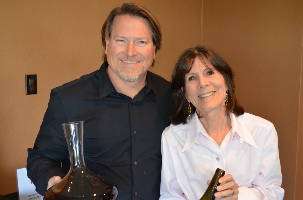Mark Horvath, Crawford Family Wines and Cori Solomon