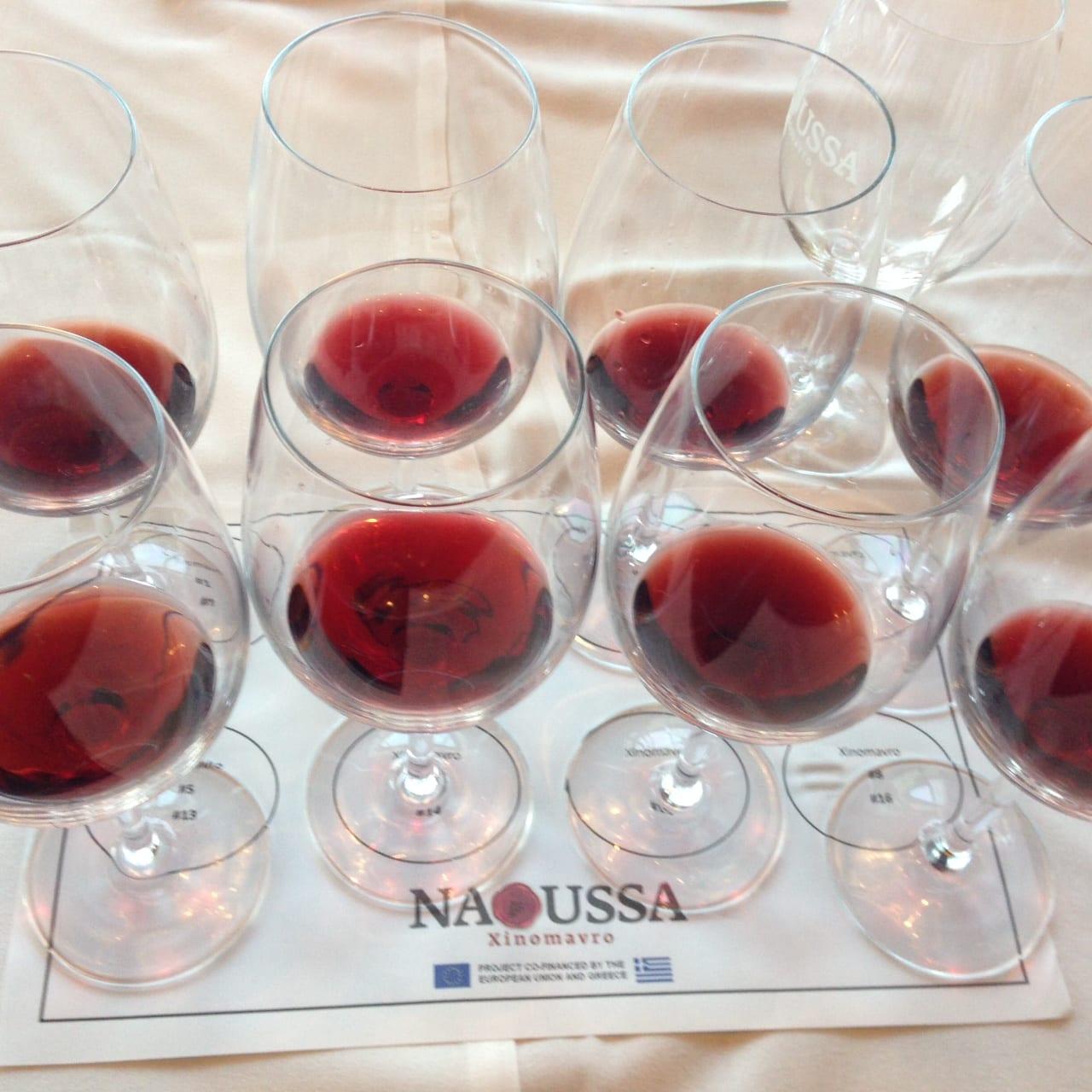 Wines from Naoussa Xinomavro