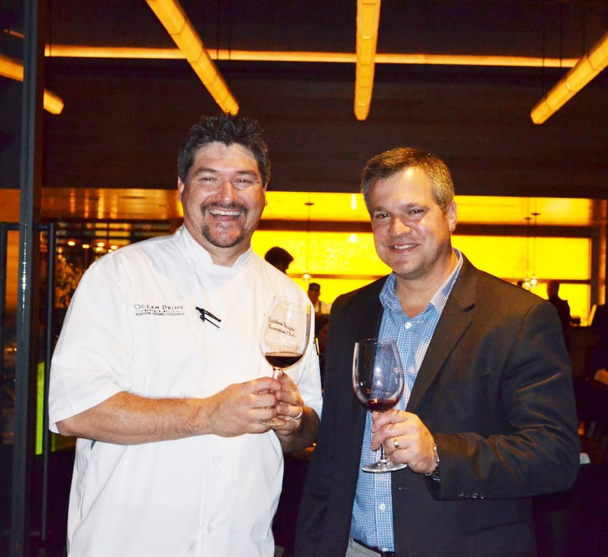 Chef Matthew Briggs and Winemaker Marcus Notaro