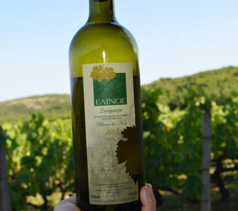 Elinos Vineyards Blanc de Noir