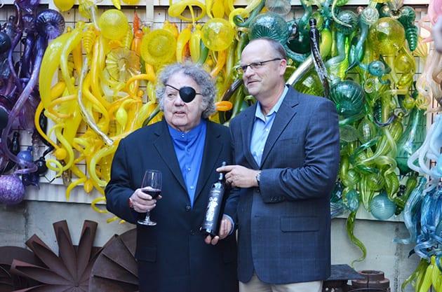 Dale Chihuly and Bob Bertheau