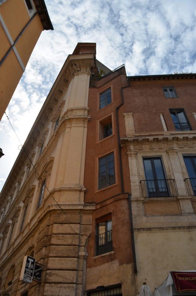 Rome Building Facades