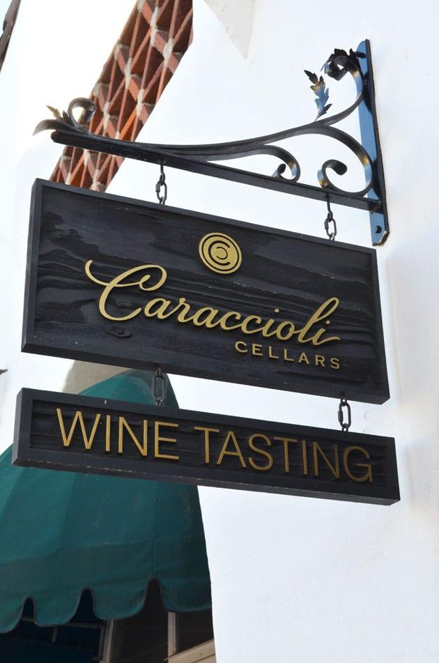 Caraccioli Cellars Wine Tasting Room