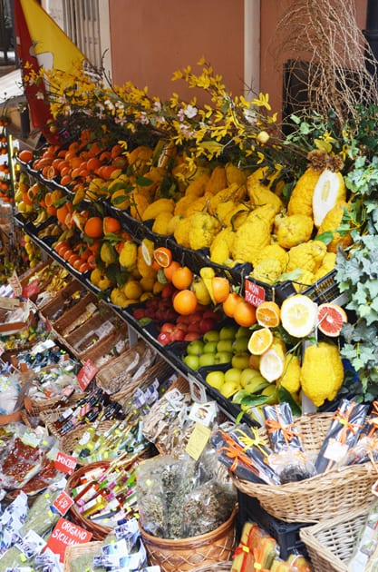 Fruit Stand in Taormina