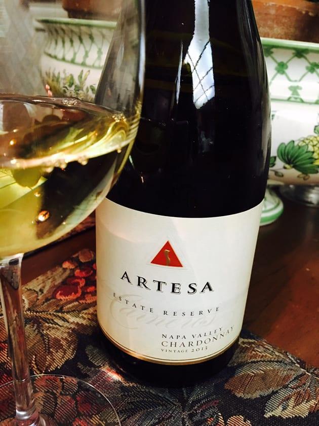 Artesa Estate Reserve Napa Valley Chardonnay