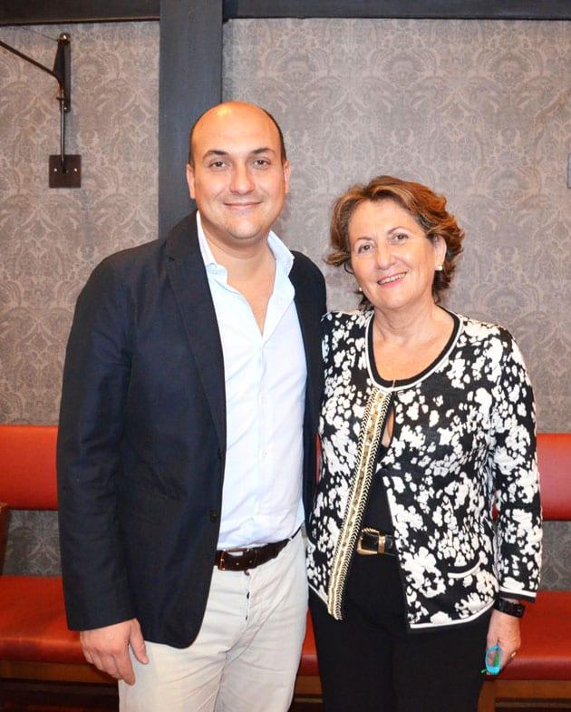 Patrizia Felluga and Antonio Zanon