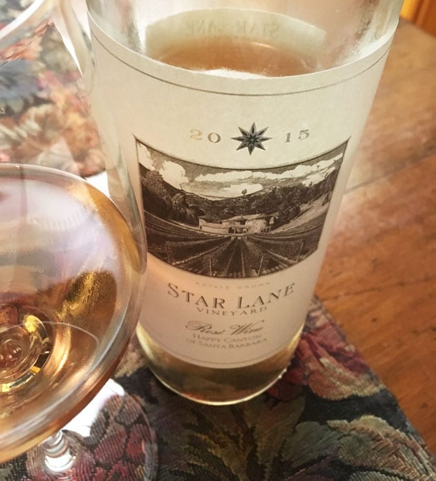 Star Lane Vineyard Rose of Malbec