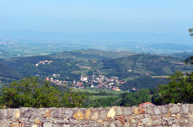 The View from Villa Beatrice dEste