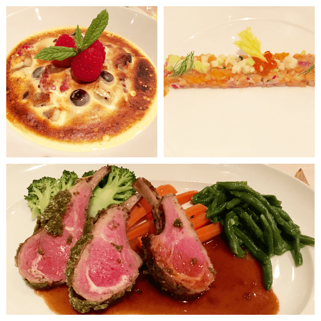 Cuisine on Celebrity Reflection
