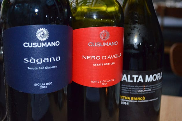 Wines of Cusumano, Sicily - Nero D'Avola