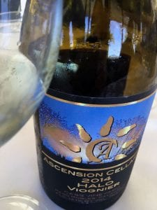 Ascension Cellars Halo Viognier