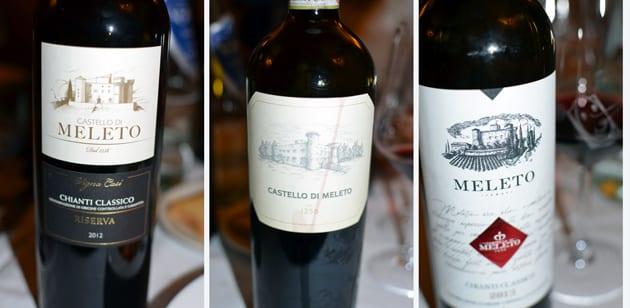Castello Di Meleto Red Wines