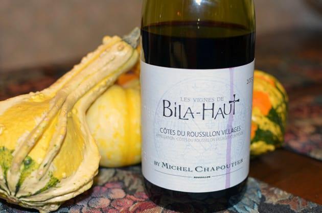 Thanksgiving wine - Les Vignes Bila-Haut Rouge