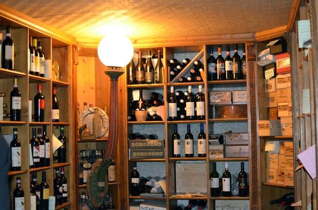 Trattoria Da Burde Wine Cellar