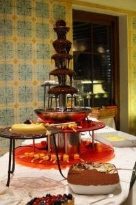 Desserts at the Hotel Adler