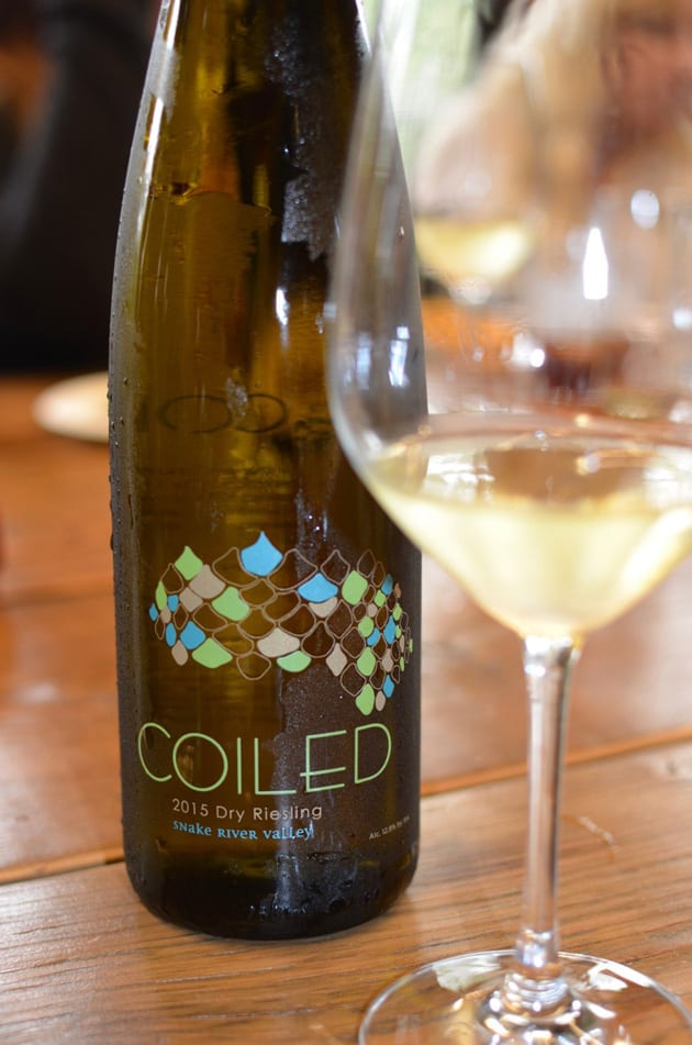 Coiled Dry Riesling Snake River Valley