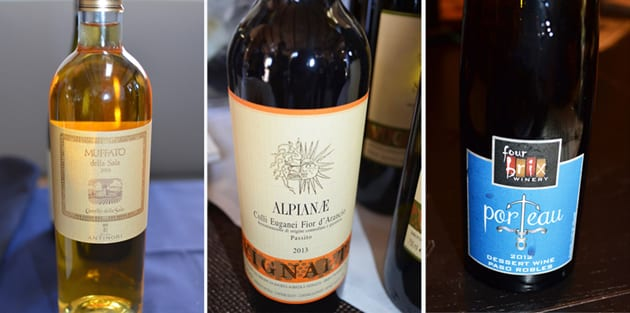Favorite Dessert Wines from 2016