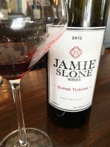 Jamie Slone Wines Super Tuscan
