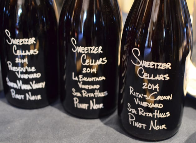Sweetzer Cellars Pinot Noir