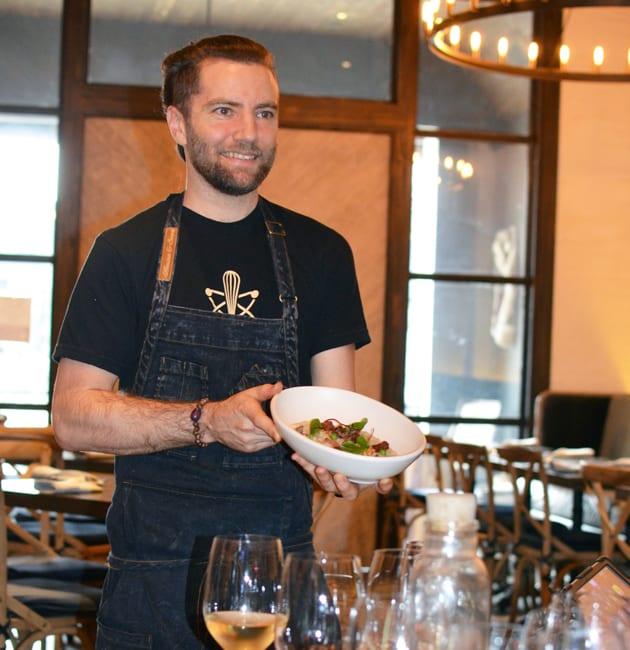 Wolf Restaurant Chef/Owner Marcel Vigeron