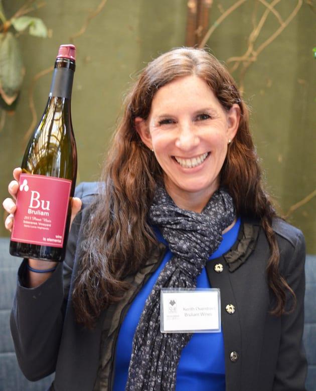 Kerith Overstreet, winemaker Bruliam