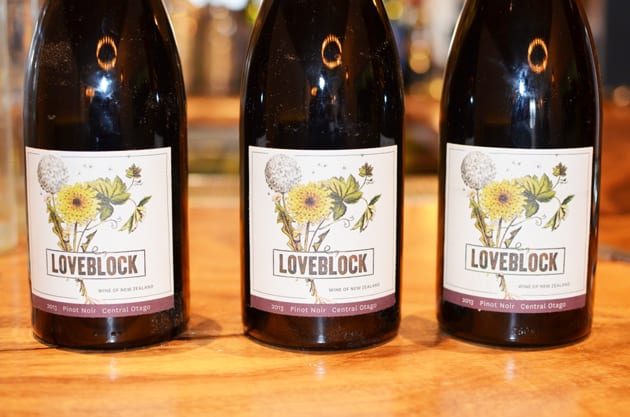 New Zealand Loveblock Wines