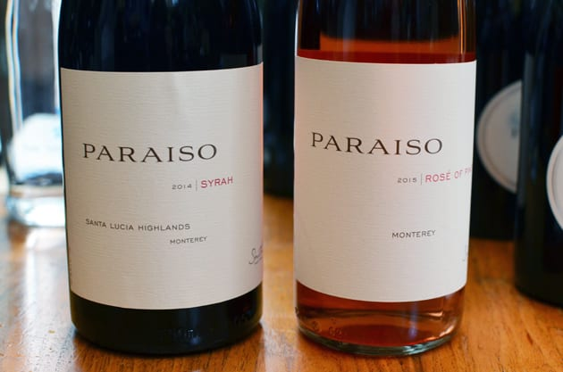 Paraiso Vineyards Syrah and Rosé
