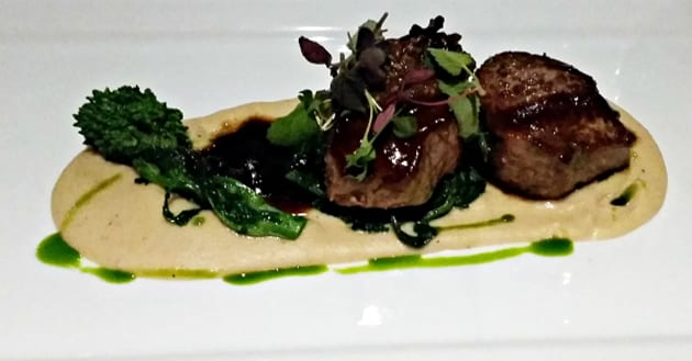 Seared-lamb-white-bean-truffle-puree