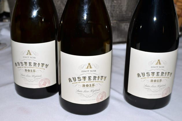 Austerity Wines Pinot Noir