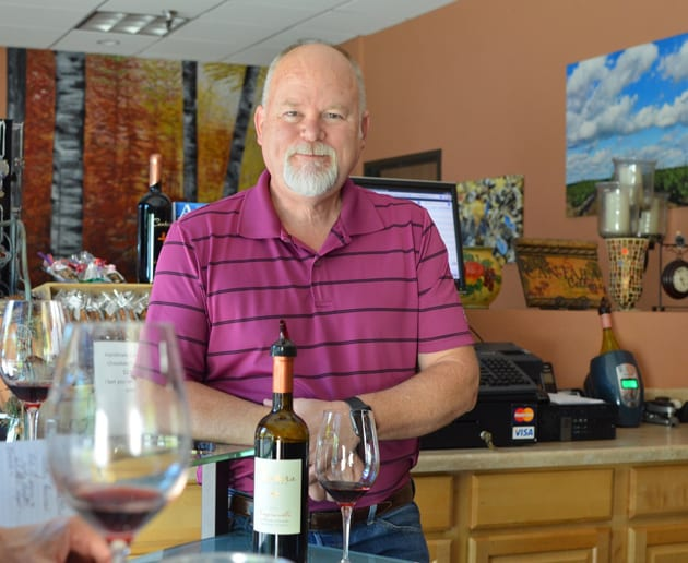 Chris Brown, Winemaker Cantara Cellars
