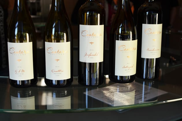The wines of Cantara Cellar, Camarillo, CA