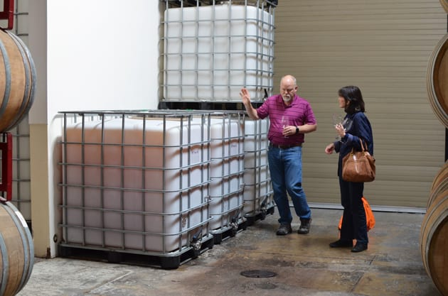 Air Permeable Totes at Cantara Cellars