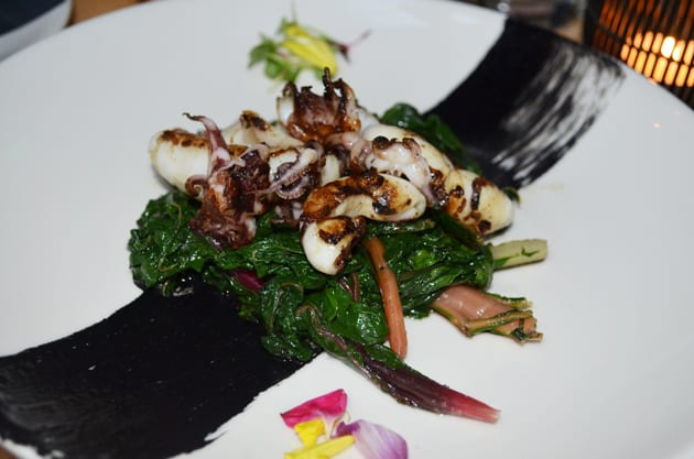 Obica Squid Salad
