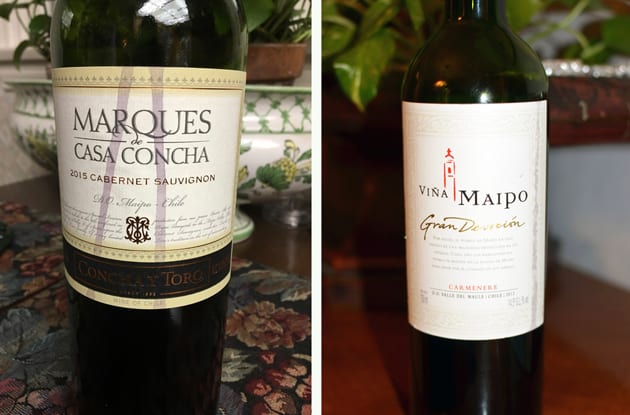 Chilean Red Wines