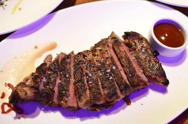 STK Steakhouse Restaurant New York Strip