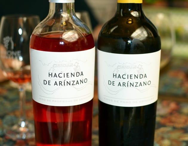 Hacienda de Arinzano Rose and Chardonnay