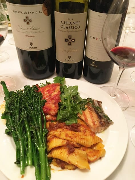Pairing Cecchi Wine at Cecconi's