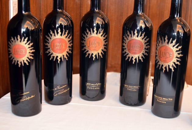 Luce Vertical Wine Tasting