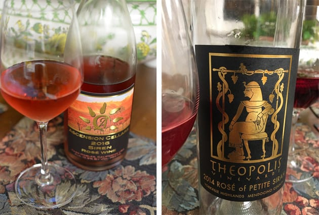 Rose Wine from Ascension Cellars and Theopolis Vineyards