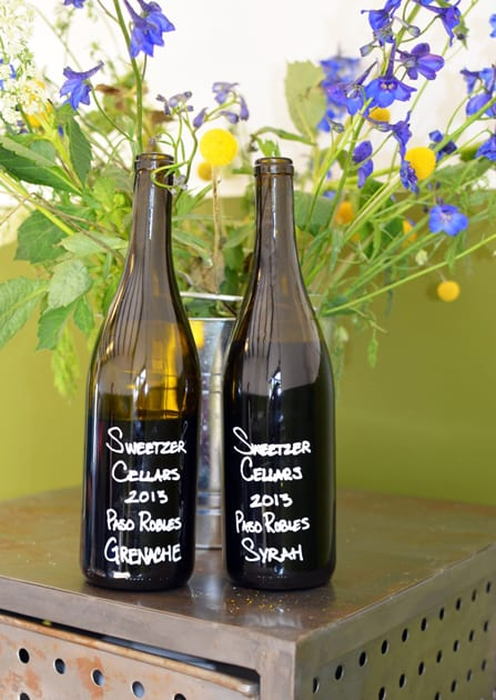 Sweetzer Cellars Grenache and Syrah