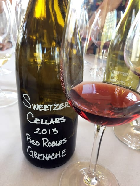Sweetzer Cellars Grenache