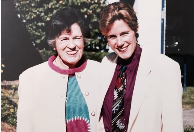 Mary McGrath and her Mother