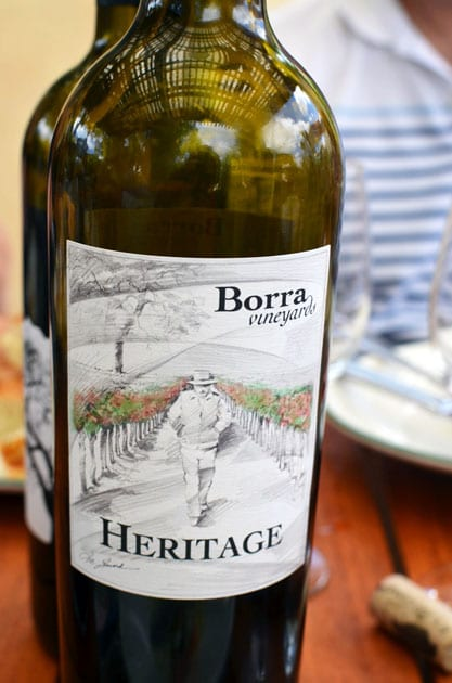 Borra Vineyards Heritage