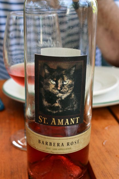 St Amant Barbera Rose